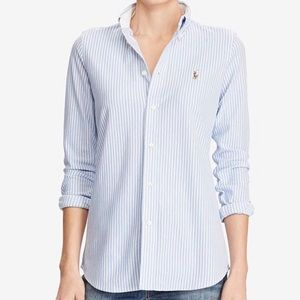 Ralph Lauren slim fit Oxford button down shirt